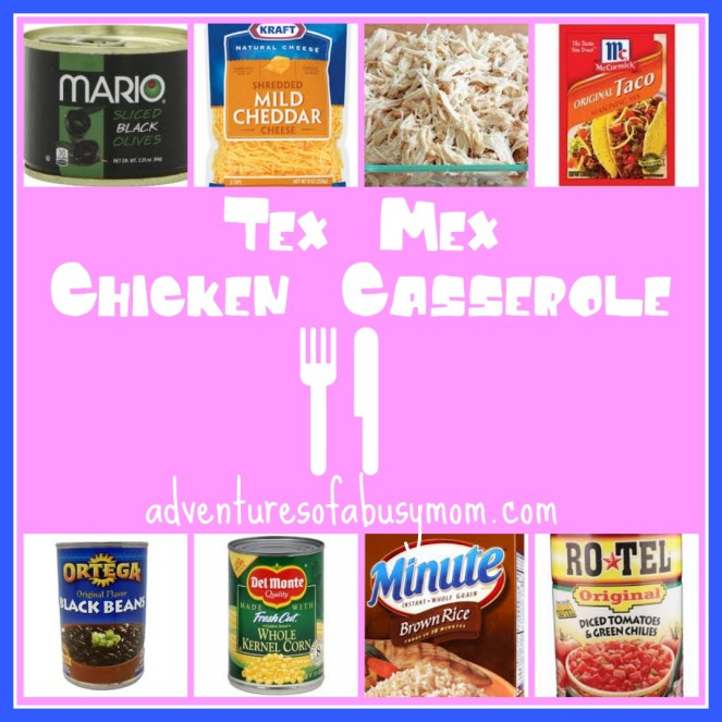 tex mex chicken casserole