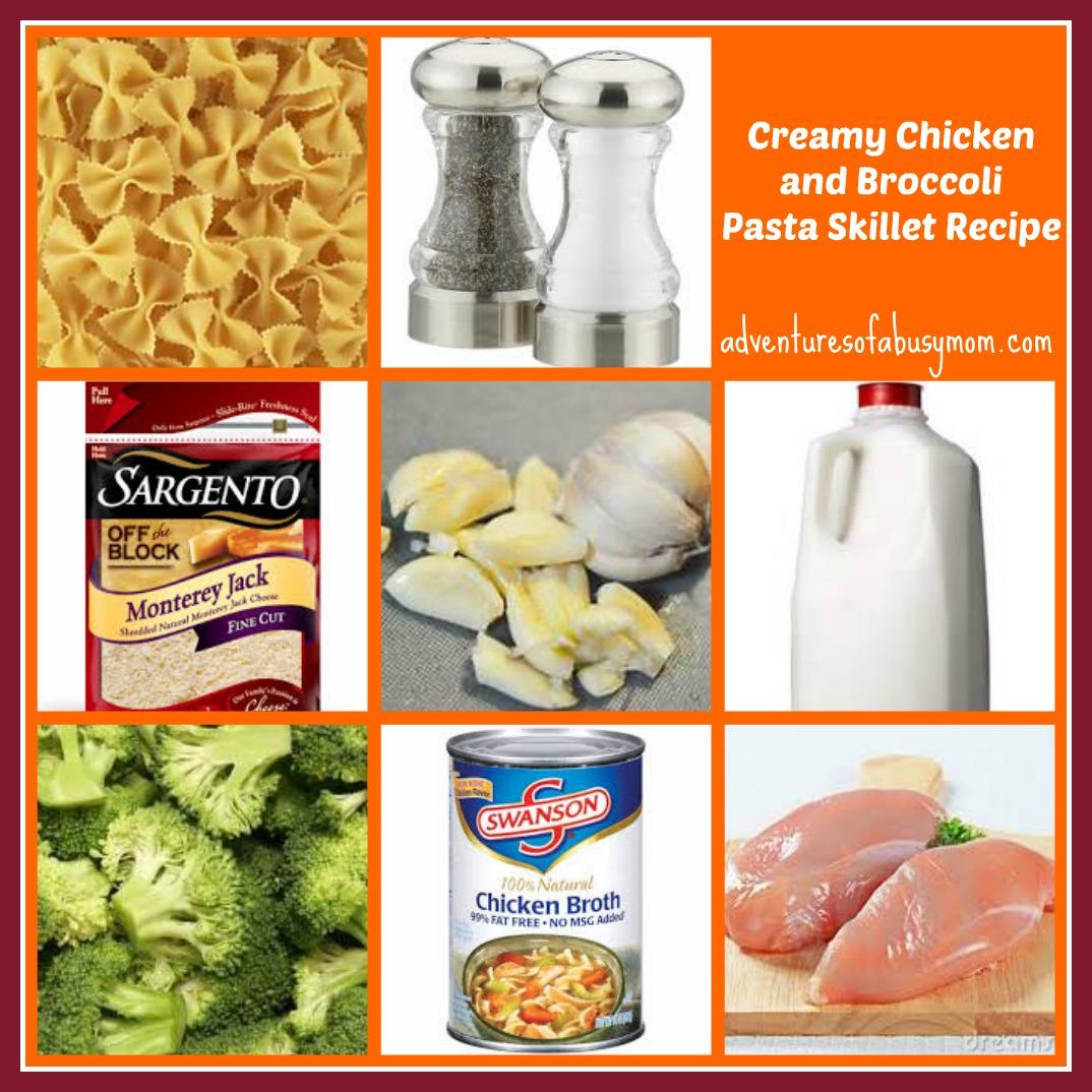 Creamy Chicken Broccoli Spaghetti