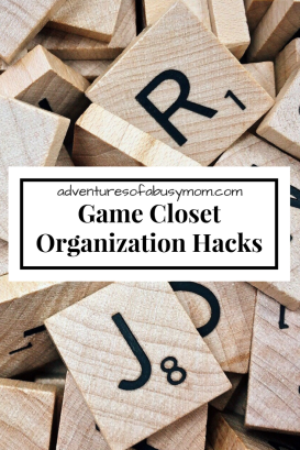 Game ClosetOrganization Hacks