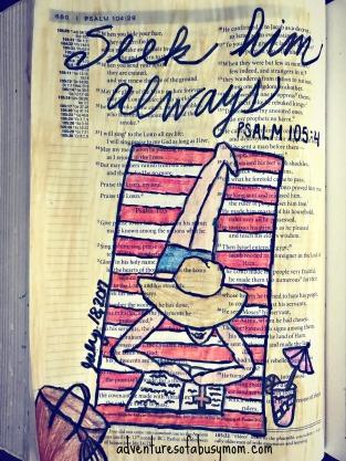 seek him always