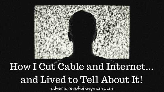 How I Cut Cable & Internet...and Lived to Tell About It!