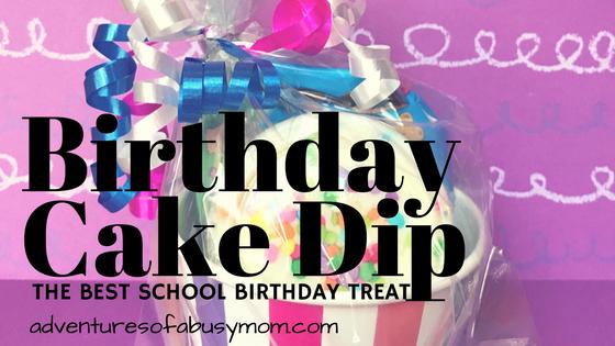 Birthday Cake Dip