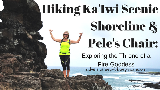 Hiking Ka'Iwi Scenic Shoreline & Pele's Chair_