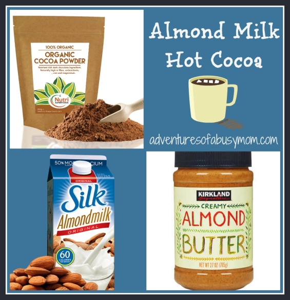 almond milk hot cocoa