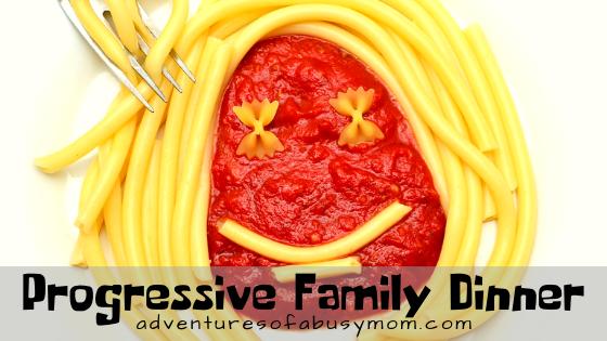 progressive family dinner